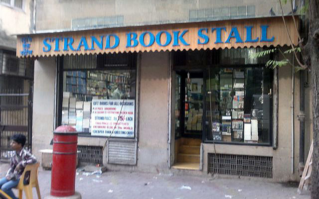 The iconic Strand Book Stall in Colaba, Mumbai